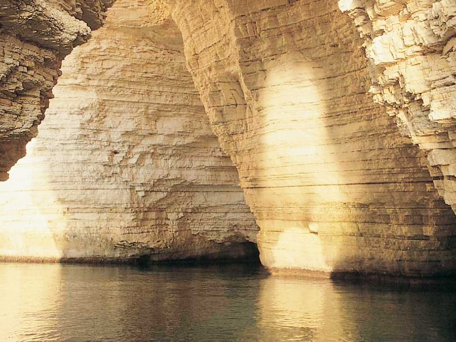 The Sea Caves Of Vieste